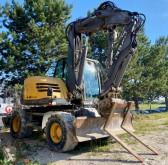 Excavadora Mecalac 714 MW excavadora de ruedas usada