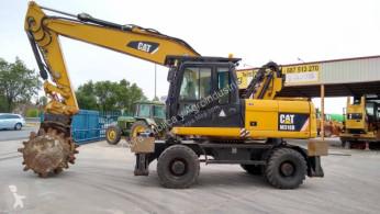 Caterpillar M 318 D used wheel excavator