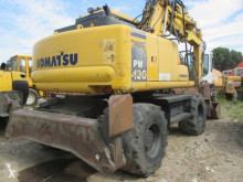 Komatsu PW 130-7K escavatore gommato usato