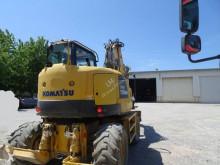 Excavadora Komatsu PW180 PW180 MR-8 excavadora de ruedas usada