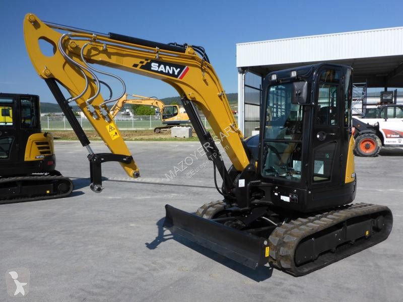 Vedere le foto Escavatore Sany SY 50 U