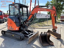 Excavadora miniexcavadora Hitachi ZAXIS 33U-5A - *1452 HOURS* - BLAD - HYDR. SNELWISSEL - A/C - BELG. MACHINE - BINNENDRAAIER / 0-TAIL SWING