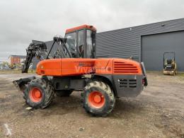 Excavadora Mecalac 12 MXT excavadora de ruedas usada