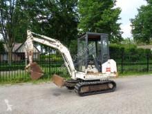Excavadora koop bobcat X125 minigraver/graafmachien miniexcavadora usada