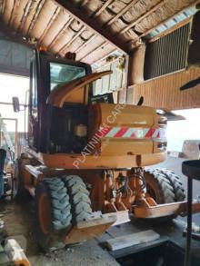 Gravemaskine på hjul Case WX125