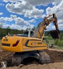 利勃海尔R906 Advanced 履带式挖掘机 二手