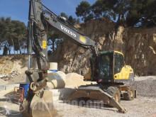 Excavadora Volvo EW180 D excavadora de ruedas usada