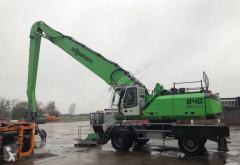 Escavadora de grifa manutenção Sennebogen 840 M