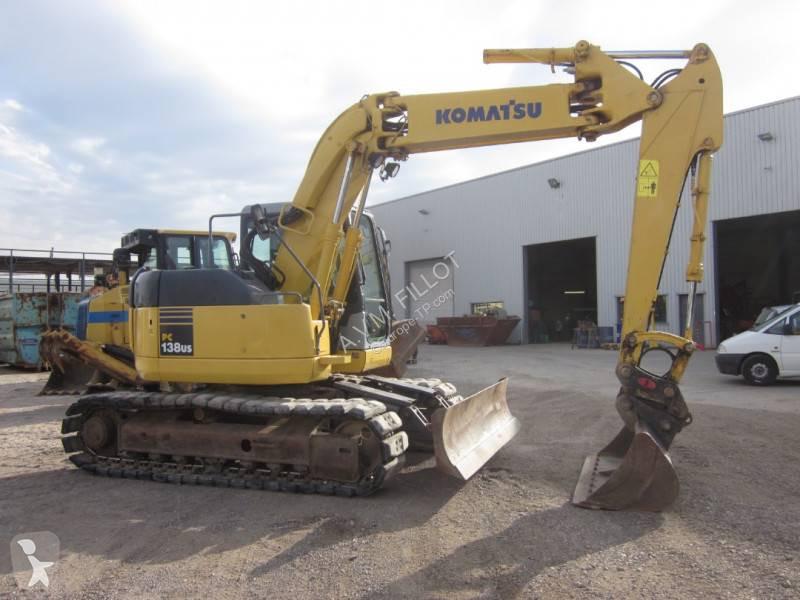 Ver las fotos Excavadora Komatsu PC138US2