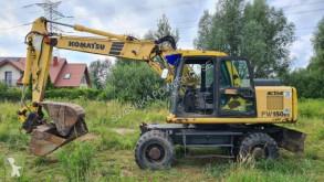 Excavadora Komatsu PW150 excavadora de ruedas usada