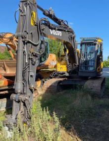 Volvo ECR145 D used track excavator