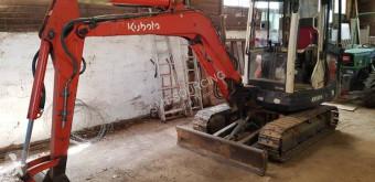 Excavadora Kubota KX101-3a miniexcavadora usada