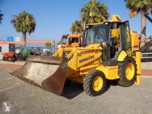 Excavadora Komatsu WB95R WB93R-5 4X4 EXCAVADORA excavadora de ruedas usada