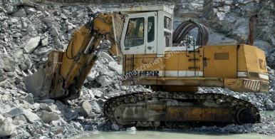 Excavadora Liebherr Liebherr R974 year/Baujahr 1993 excavadora de cadenas usada
