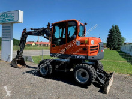 Schaeff wheel excavator neuwertiger Mobillbagger Schaeff TW 75 komplett