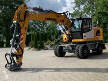 Excavadora Liebherr A918 LITRONIC Mobilbagger *1.462 H *Schnellwec. excavadora de ruedas usada