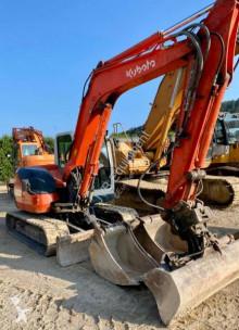 Excavadora Kubota KX080-3a miniexcavadora usada
