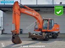 Doosan DX210 W used wheel excavator