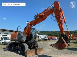 Escavadora Hitachi ZX 145 W-3 escavadora de rodas usada