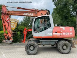 Excavadora Atlas 1805M excavadora de ruedas usada