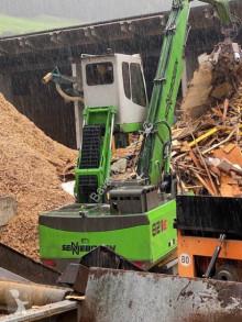 Escavadora de grifa manutenção Sennebogen 821E