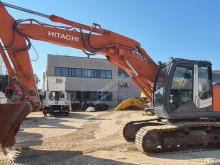 Hitachi ZX240N-3 bæltegraver brugt