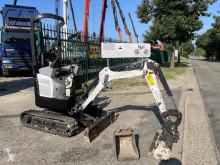 小型挖掘车 山猫 418 - snelwissel - verstelbare rupsen - extra Hydrauliek - BLAD - 1521 Uren - BE machine