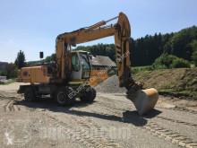 Liebherr A904C Litronic skovel på däck begagnad
