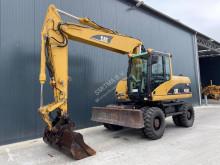Caterpillar M316 used wheel excavator