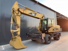 Caterpillar M322 used wheel excavator