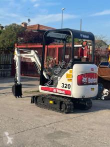 小型挖掘车 山猫 320