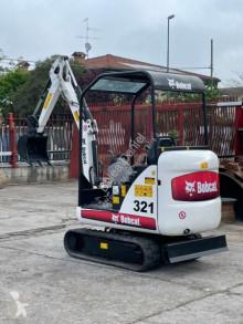 小型挖掘车 山猫 321