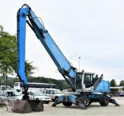 Terex FUCHS MHL 350 Umschlagbagger + Greifer ! gravemaskine på hjul brugt