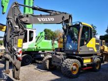 Excavadora Volvo EW160 excavadora de ruedas usada