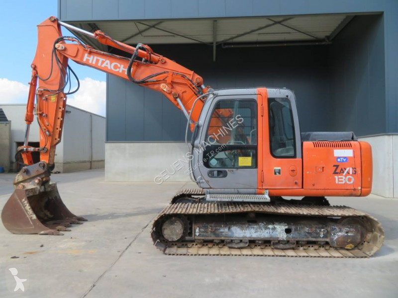 View images Hitachi ZX 130 excavator