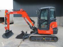 Excavadora Kubota KX 037-4 miniexcavadora usada