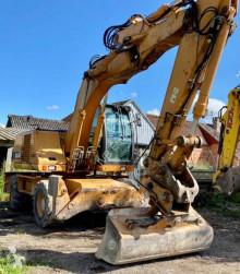 Excavadora Case WX165 excavadora de ruedas usada