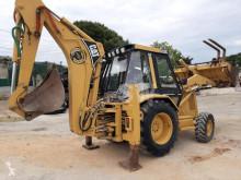 Caterpillar 438B gravemaskine på hjul brugt