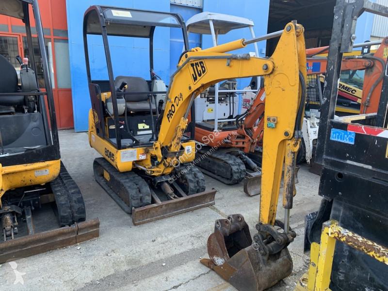 Ver las fotos Excavadora JCB 8015