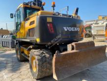 Excavadora Volvo EW160D Engcon excavadora de ruedas usada