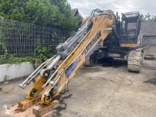Excavadora Liebherr R 956 HD excavadora de cadenas accidentada