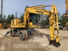 Excavadora Komatsu PW148-8 excavadora de ruedas usada