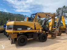 Escavadora de rodas Caterpillar M318C