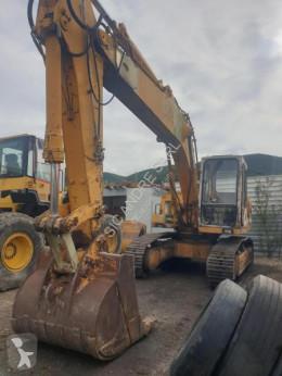 Caterpillar 215 used track excavator