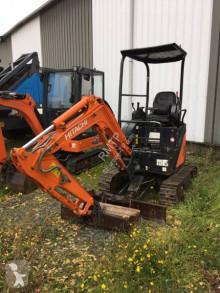Excavadora Hitachi ZX17U-2 miniexcavadora usada