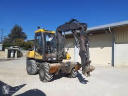 Mecalac 12 MTX escavadora de rodas usada
