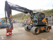 Volvo EWR 150 E mit Lehnhoff Powertilt used wheel excavator