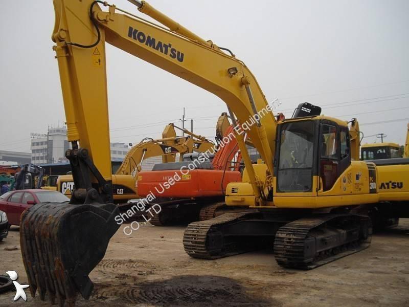 Voir les photos Pelle Komatsu PC200-7 PC200-7