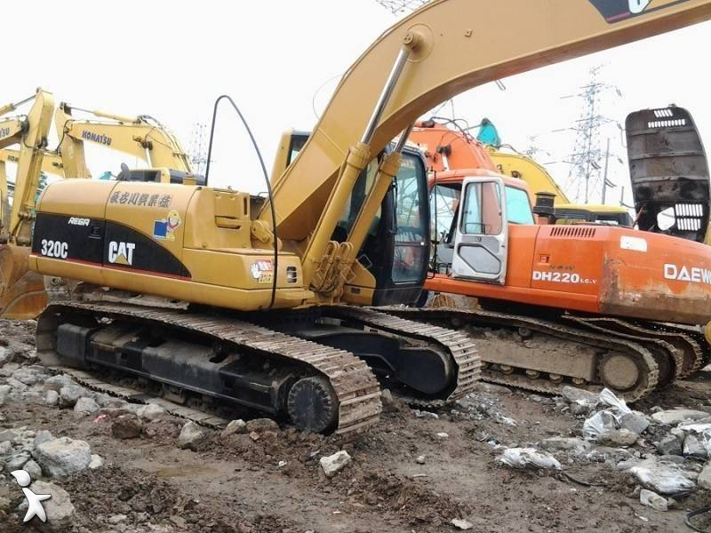View images Caterpillar 320C 320C excavator