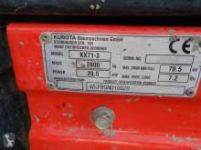 View images Kubota KX71-3  excavator